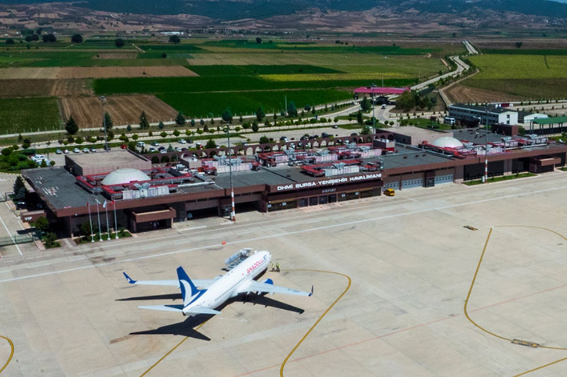 bursa yenişehir havalimanı