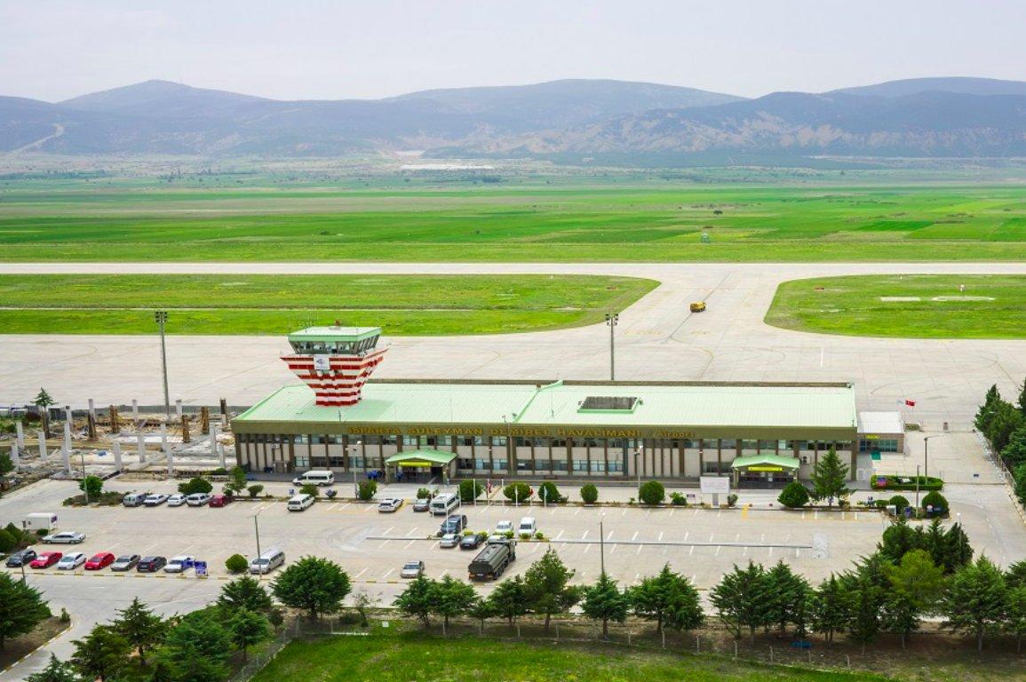 ısparta süleyman demirel havalimanı